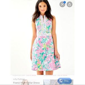 Lily Pulitzer Franci High Collar Dress